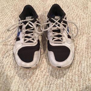 Nike free TR training shoes size 8